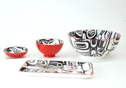 porcelain canadian native design