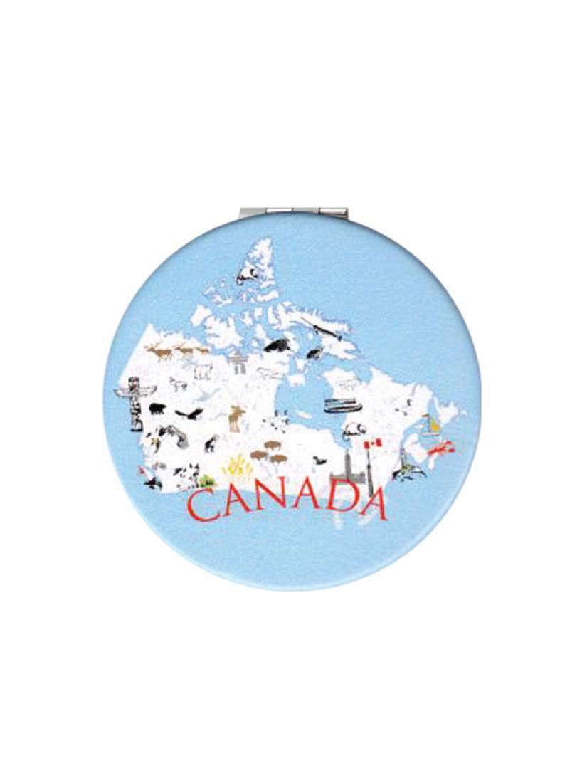 Canada Map Sales.Canada Map Compact Mirror Panabo Sales